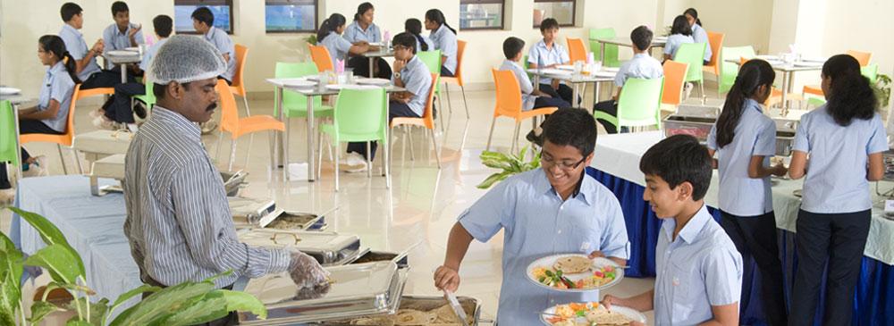 Food Menu in Best Day Boarding School - Jain Heritage School