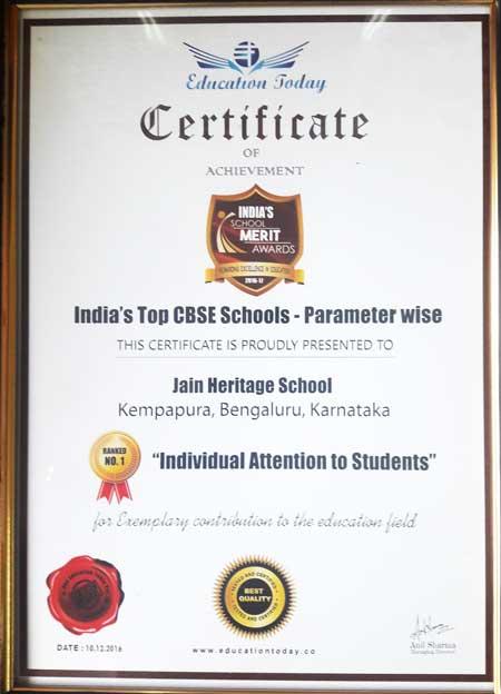 India's Top CBSE Schools - Education Today Survey 2016