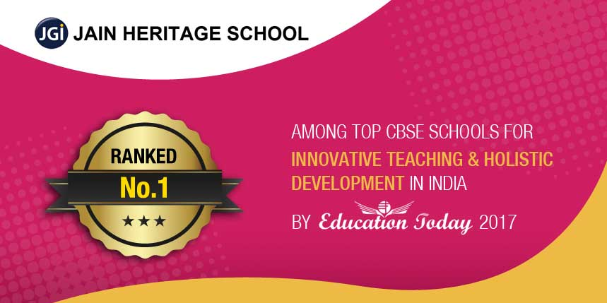 Jain Heritage School Ranked No.1 in Innovative Teaching and Holistic Development