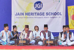 Musical Journey with Warsi Brothers at JHS