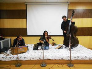 Musical workshop for Children in JHS