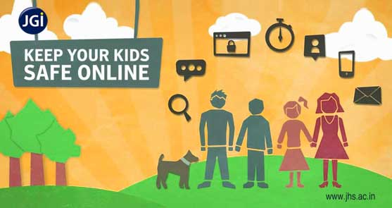 child safe while on the internet- JHS
